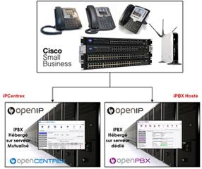 Téléphonie IP hébergée pour les professionnels